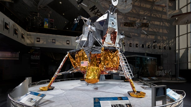 The Lunar Module LM-2 at the Smithsonian National Air and Space Museum.
