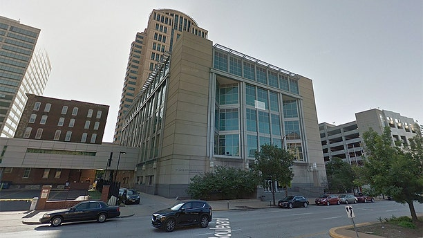A woman was trapped in a St. Louis Justice Center stairwell for 2.5 days after she didn't understand how to leave the building, officials said.