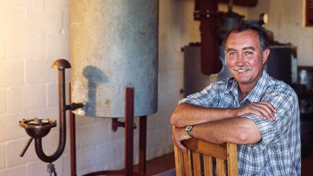 Farmer Stefan Smit, 62, was killed in his vineyard home Sunday in South Africa's world-famous Stellenbosch wine region by masked gunmen.