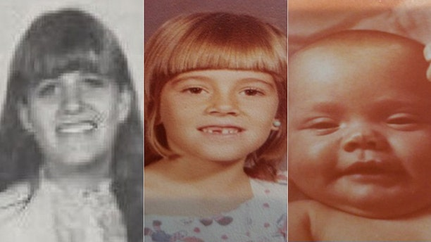 Marlyse Elizabeth Honeychurch, 24, and her two daughters Marie Elizabeth Vaughn, 6, and Sarah Lynn McWaters, 1, were identified Thursday as three of the four bodies found inside barrels locatedin the woods of Bear Brook State Park beginning in 1985.