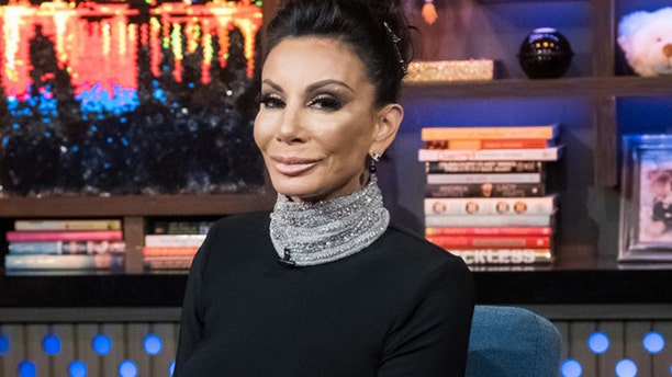 "Danielle Staub as a guest on ""Watch What Happens Live With Andy Cohen."""