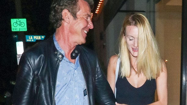 According to People Magazine, this photo shows Dennis Quaid and Laura Savoie on May 14, 2019, in Los Angeles, California. (Photo by gotpap/Bauer-Griffin/GC Images)