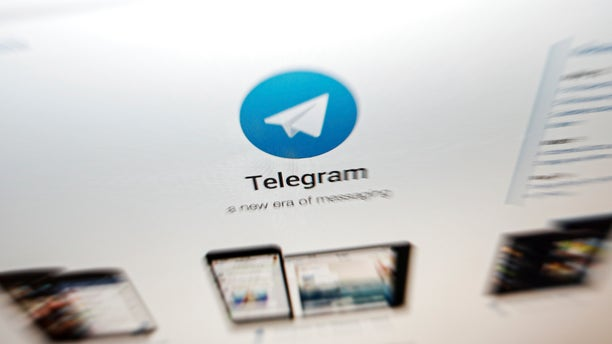 The website of the Telegram messaging app is seen on a computer's screen in Beijing, Thursday, June 13, 2019.  (AP Photo/Andy Wong)