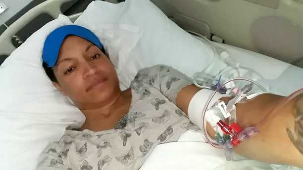 When she returned home she landed in the hospital after collapsing at a friend's house and learned that she had actually been bleeding in her brain for a week.