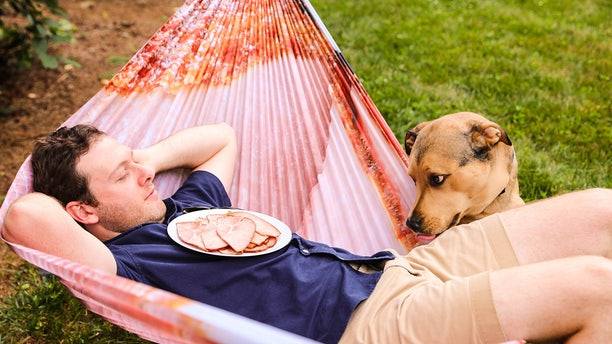 """""""Who wouldn't want to take a summer nap wrapped in giant slice of ham?"""" reps for the food retailer wondered"""