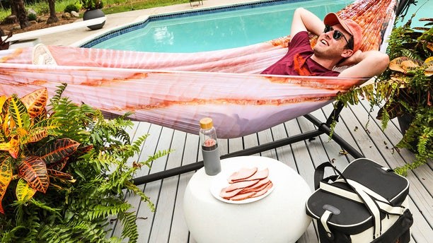 The Honey Baked Ham Company has rolled out a ham-inspired hammock – which would make for an ideal nook for an after-dinner outdoor rest.