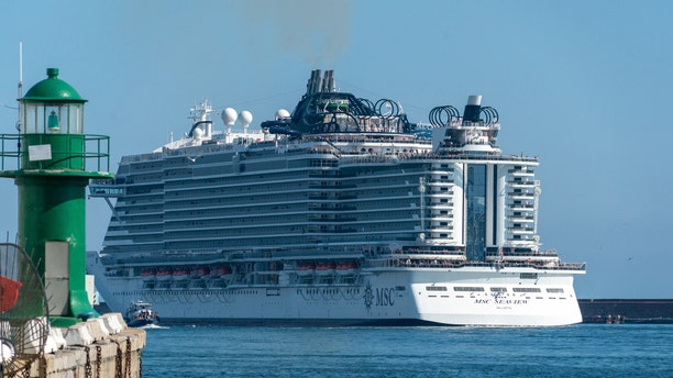 MSC Cruises confirmed the incident and praised the crew member's fast actions.