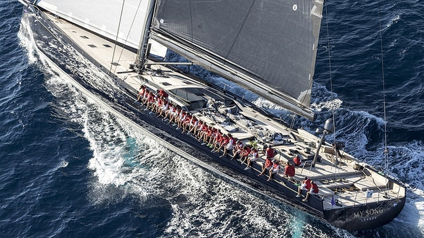 MY Song, which was built in 2016, was being transported to Ibiza to take part in the Logo Piana Superyacht Regatta, which is running in Porto Cervo from June 3 to June 6, when it broke loose over the weekend.