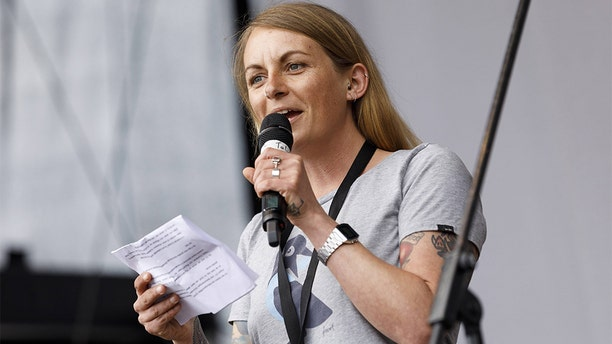 Pia Klemp, a 35-year-old Bonn native, is being investigated by Italy, and that country's government has moved to ban her from sailing around the Italian coast.(Imago via ZUMA Press)