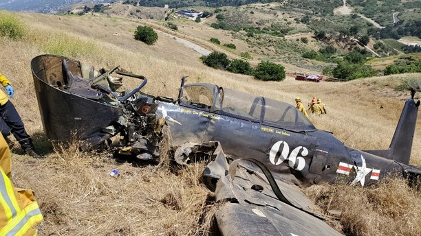 The pilot of a 1979 Nanchang CJ-6A single-engine aircraft was killed when the plane crashed north of Los Angeles on Saturday.