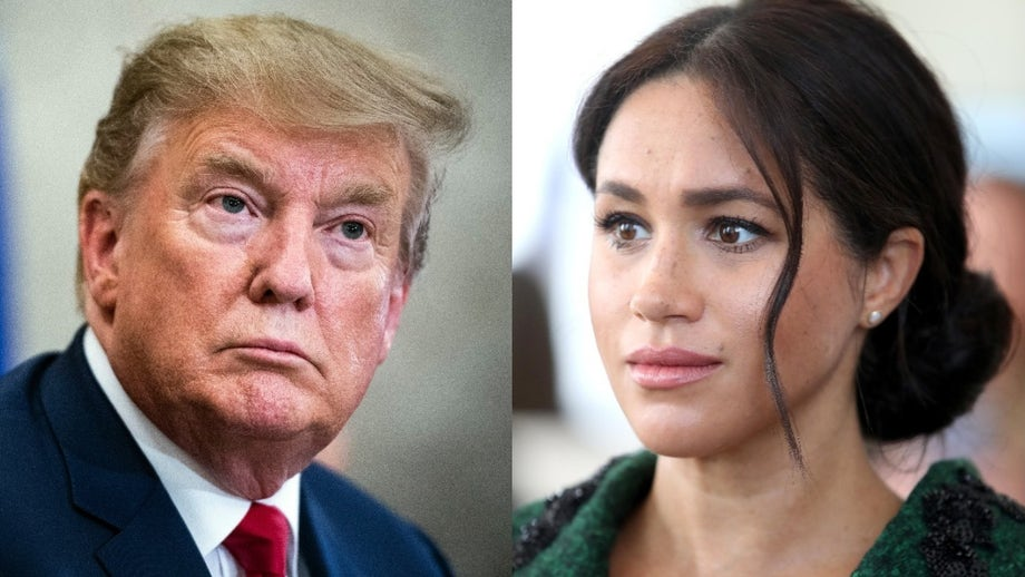 Trump says he's 'not a fan' of Meghan Markle, wishes Prince Harry 'a lot of luck'