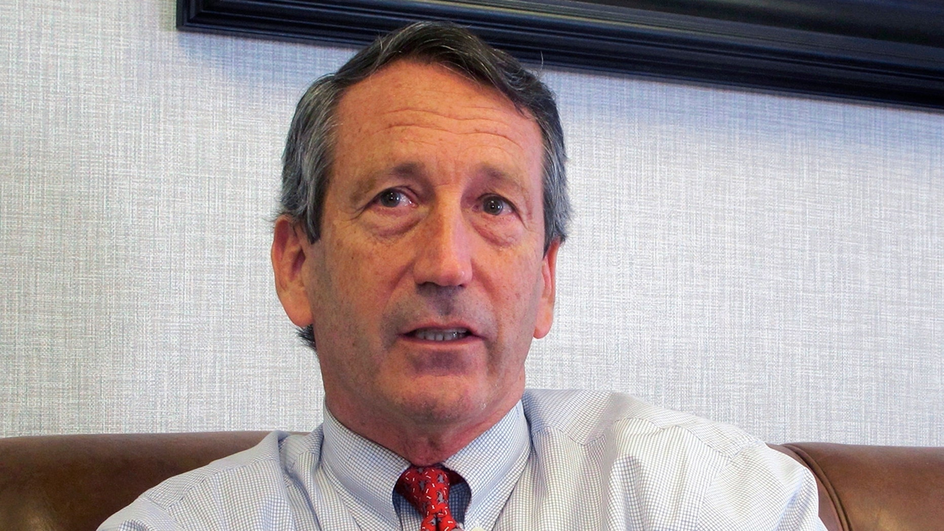 Mark Sanford, seen in this Dec. 18, 2013, file photo, is pondering a 2020 primary challenge to President Trump. (AP Photo/Bruce Smith)
