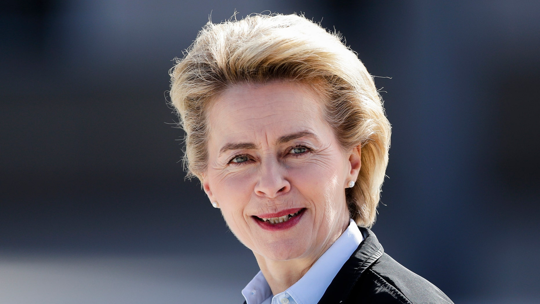 Ursula von der Leyen, a surprise choice to become the next head of the European Commission, is a strong supporter of closer European cooperation who has been Germany's defense minister since 2013. (AP Photo/Markus Schreiber, file)