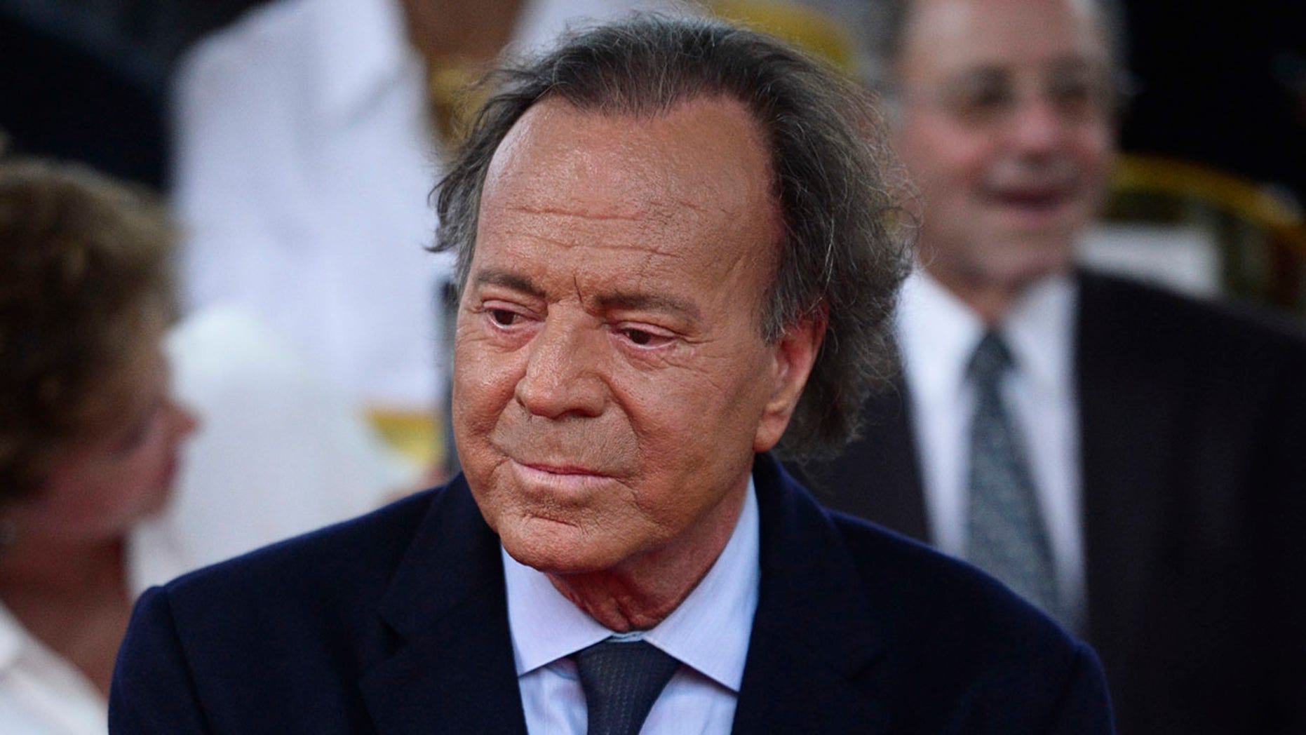 In this September 2016 file photo, Spanish singer Julio Iglesias attends his star unveiling ceremony at the Walk of Fame, in San Juan, Puerto Rico. (AP Photo/Carlos Giusti, File)