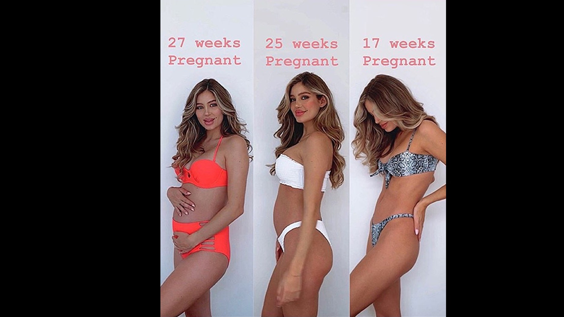Pregnant model Belle Lucia is speaking out against the industry.