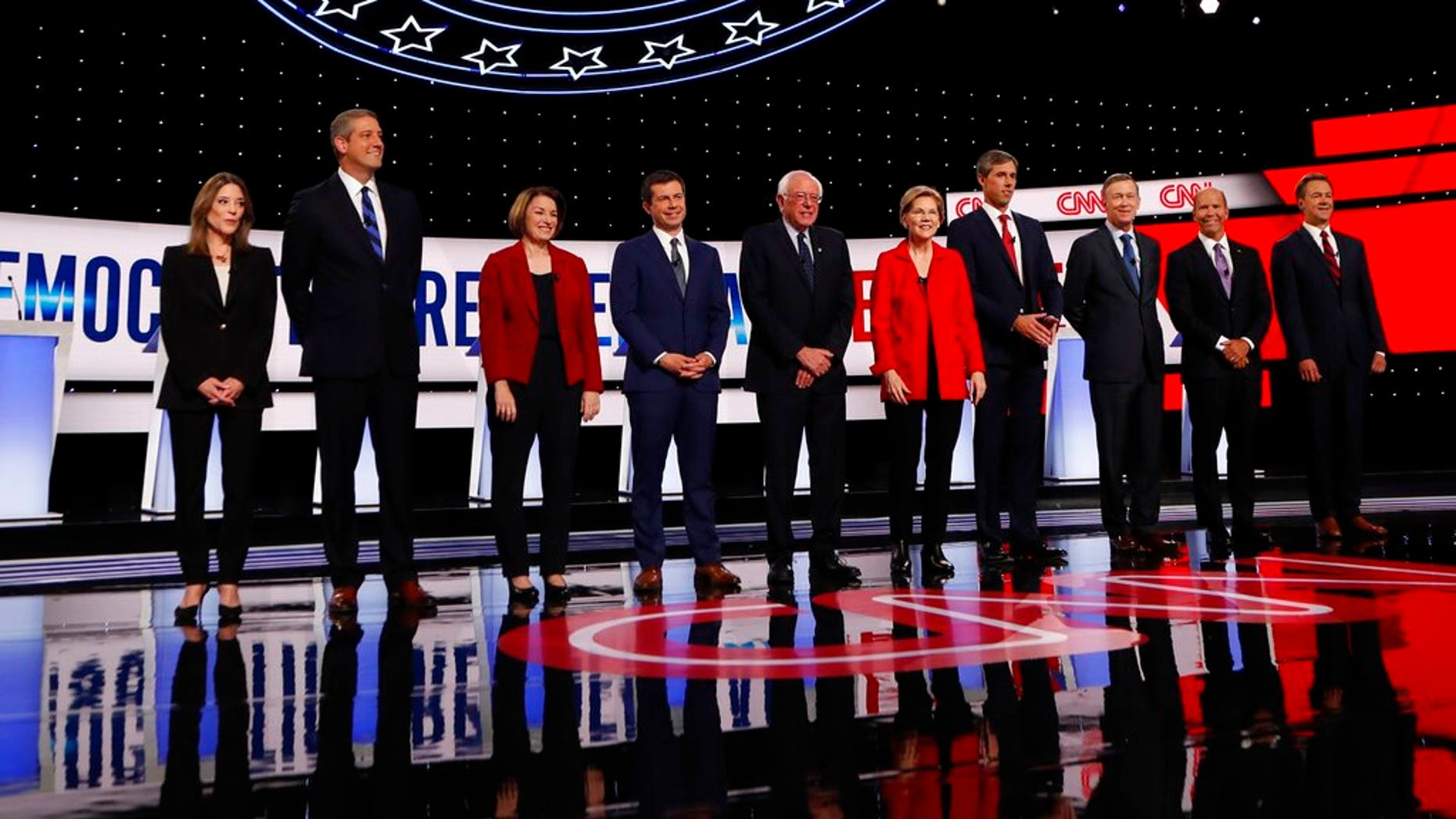 Westlake Legal Group DebateStage073119 Democratic Party divide on display at debate; A look at Tuesday's winners and losers fox-news/columns/fox-news-first fox news fnc/us fnc article 5b567591-c2ac-5f27-a5f3-386f26851591