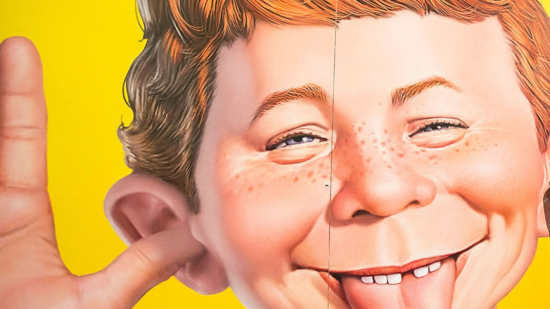 Alfred E. Neuman has been the face of Mad since 1956. (Photo by Daniel Knighton/FilmMagic)