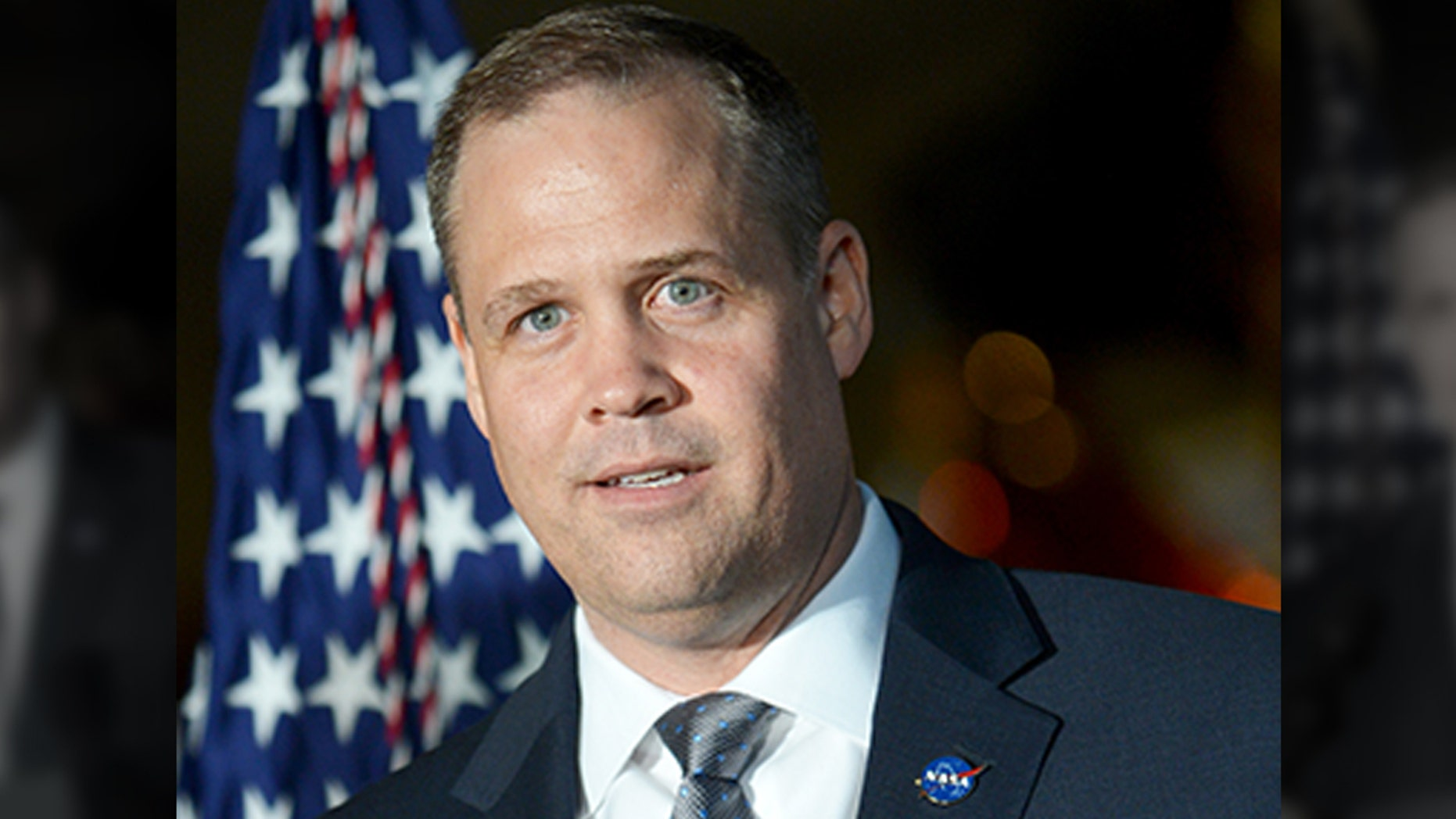 "NASA Administrator Jim Bridenstine, pictured here, said that the long-time leader of NASA's spaceflight programs was replaced by NASA Administrator Jim Bridenstine, pictured here, said the long-time leader of spaceflight programs NASA's man was replaced because ""time to continue."" </span></p> </div> </div> </div> <p class="