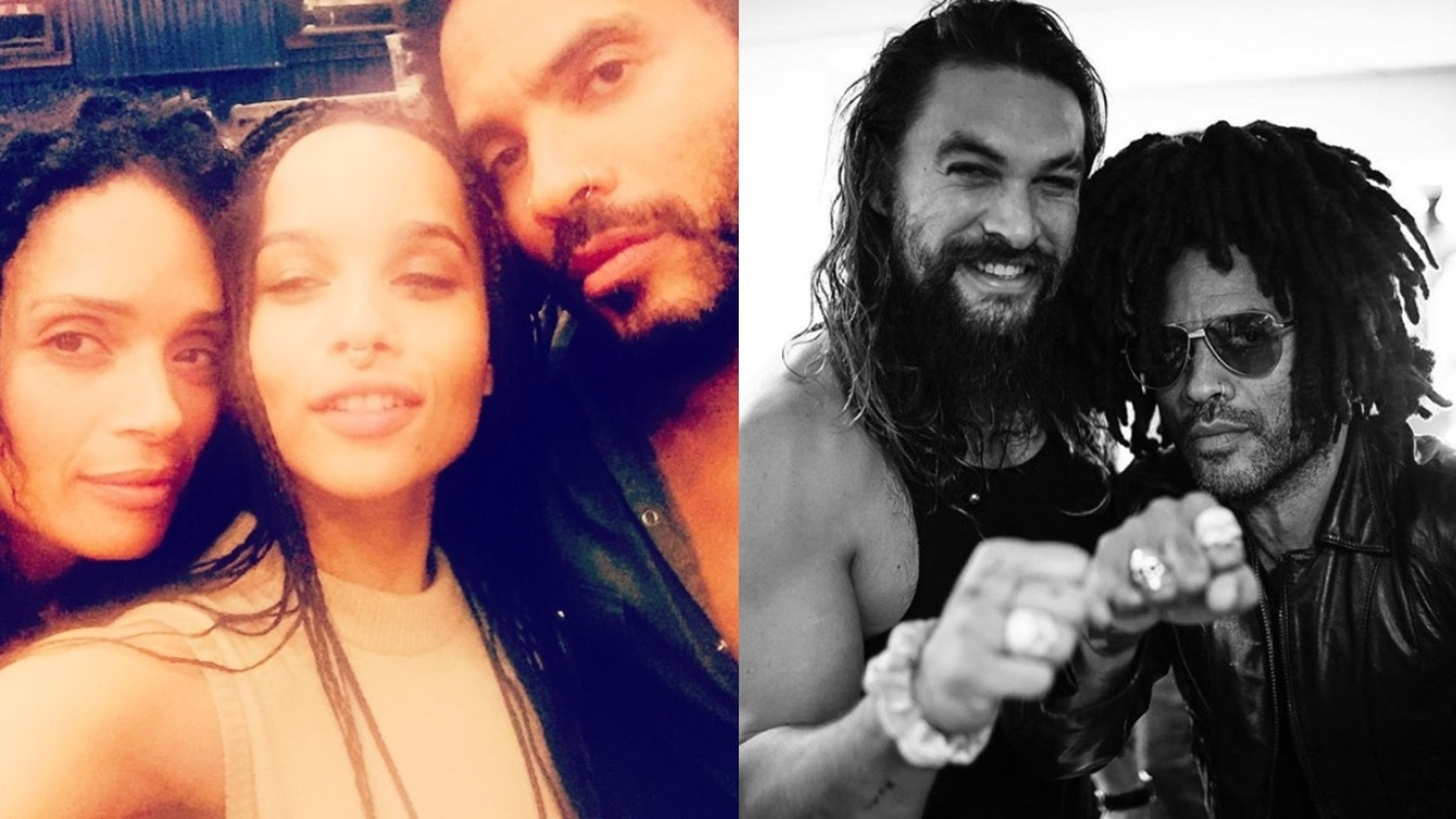 Lenny Kravitz Says Ex Wife S Husband Jason Momoa Is Like A