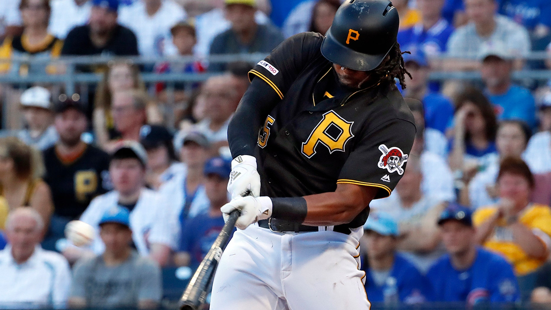 FILE - In this Jul 1, 2019, record photo, Pittsburgh Pirates' Josh Bell hits a three-run home run off Chicago Cubs starting pitcher Adbert Alzolay during a initial inning of a ball diversion in Pittsburgh. Bell is among 8 competitors in this year's All-Star Game Home Run Derby, that is handing out a $1 million esteem to a winner. (AP Photo/Gene J. Puskar, File)