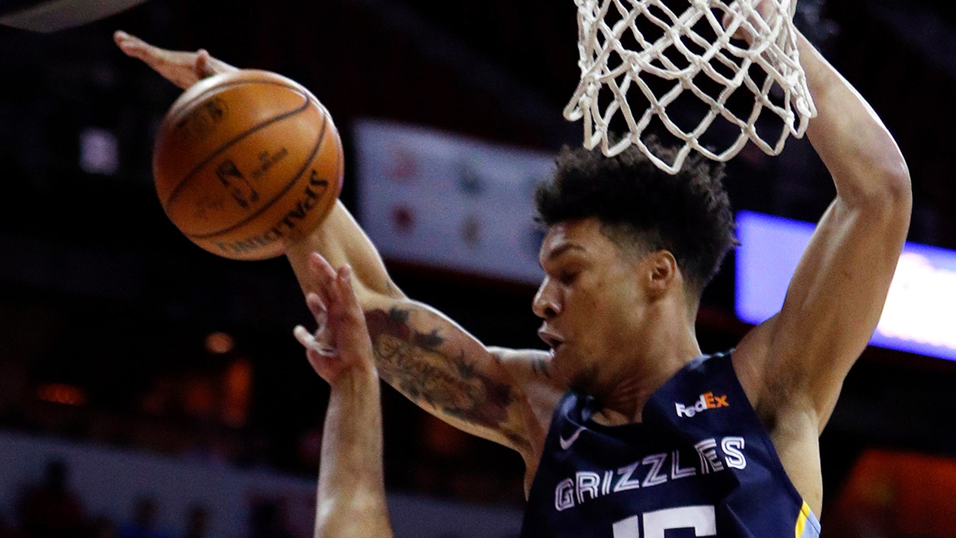 Westlake Legal Group NBA-Brandon-Clarke Clarke's double-double leads Grizzlies to title fox-news/sports/nba/the-memphis-grizzlies fox-news/sports/nba/minnesota-timberwolves fox-news/sports/nba fnc/sports fnc b47034ff-dcf7-5734-8ad9-2fef9d751ebf Associated Press article