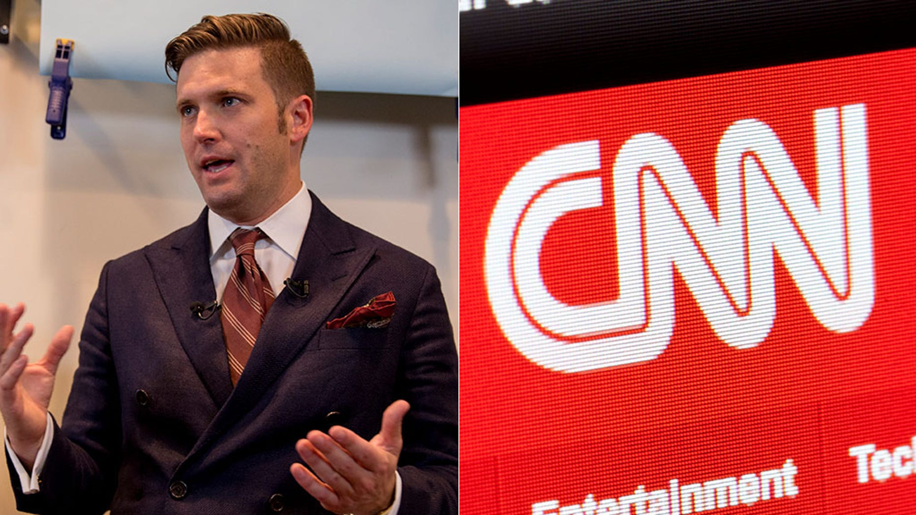 """CNN's """"The Lead with Jake Tapper"""" is under fire for providing a platform to white supremacist Richard Spencer."""
