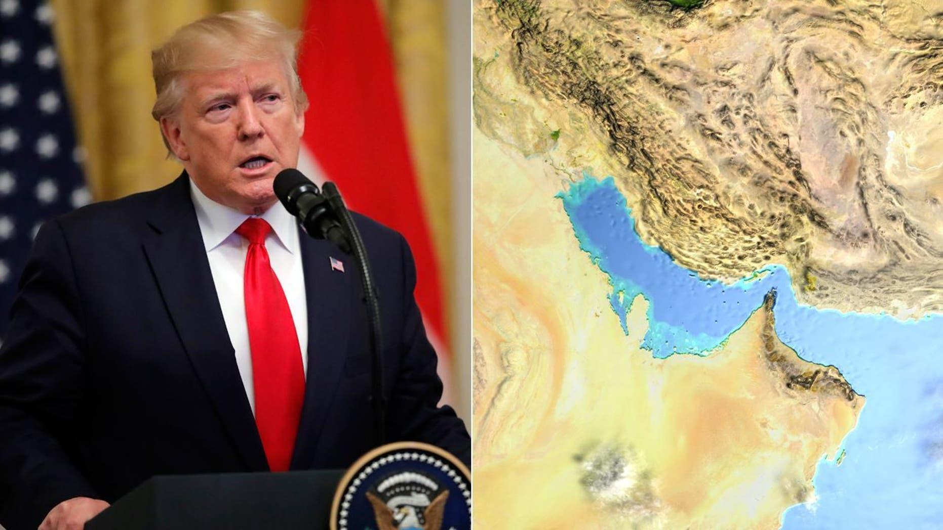 Westlake Legal Group TrumpIran071919 Iran denies US shot down Iranian drone; Ilhan Omar's anti-Israel resolution sparks outrage fox-news/columns/fox-news-first fox news fnc/us fnc article 9c22061c-5219-5f6f-a17b-dd3ae44791f4