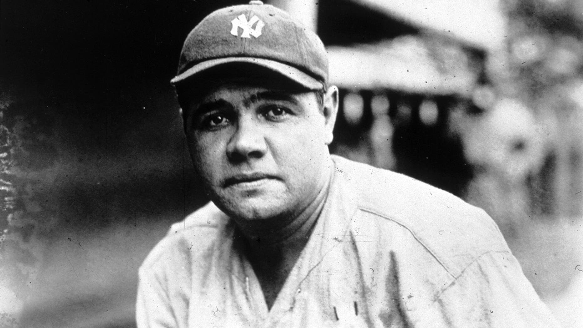 American baseball player George Herman Ruth (1895 - 1948) known as 'Babe' Ruth. (Photo by MPI/Getty Images)