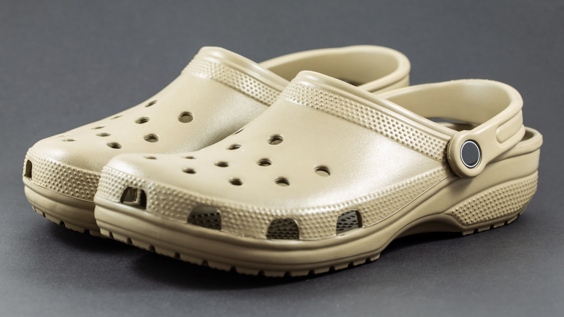 "Crocs stores are seemingly terrifying the internet with their character, dubbed ""Croc man"" by Twitter."