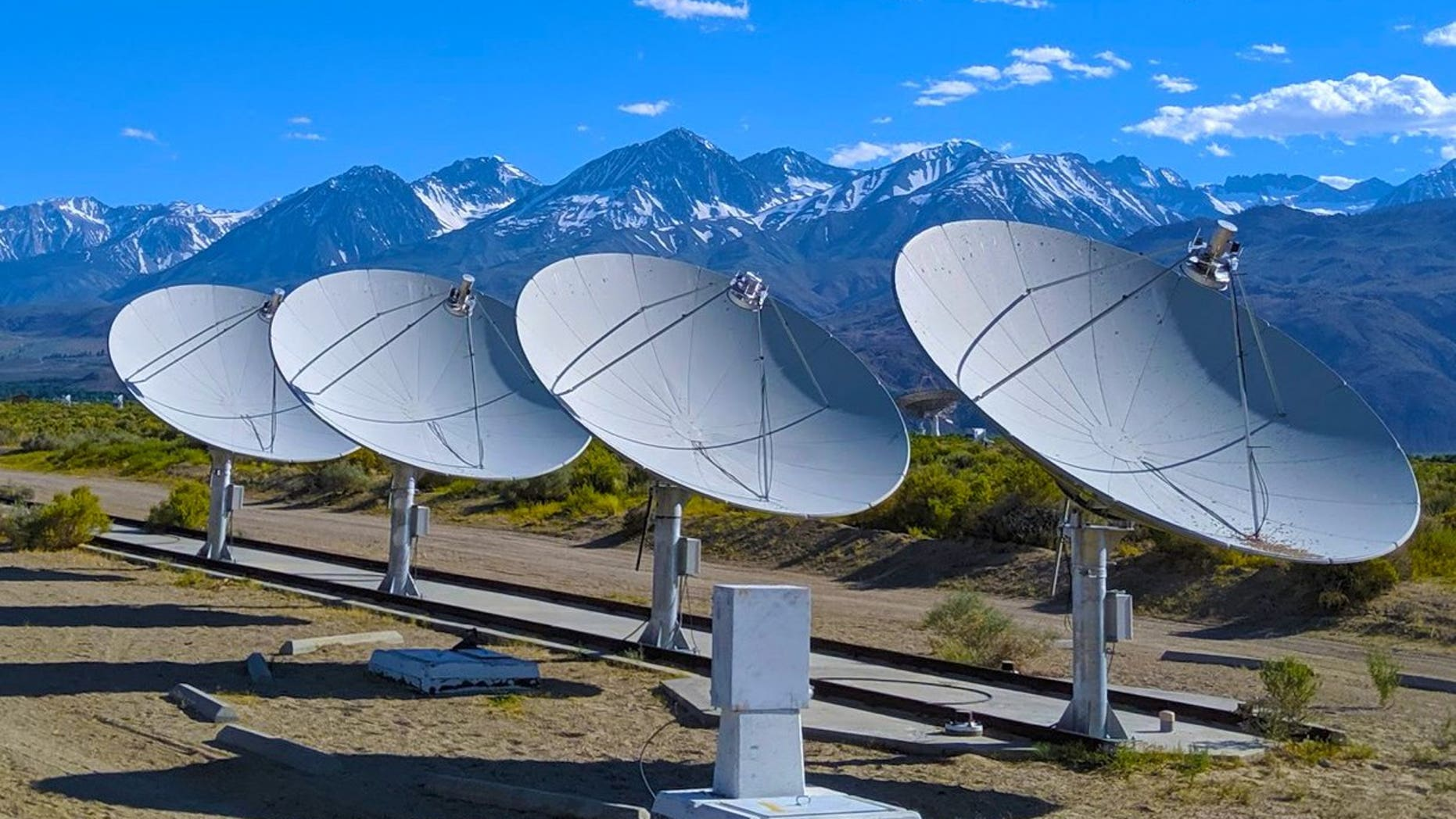 The Owens Valley Radio Observatory is located in the Sierra Nevada mountains of California.