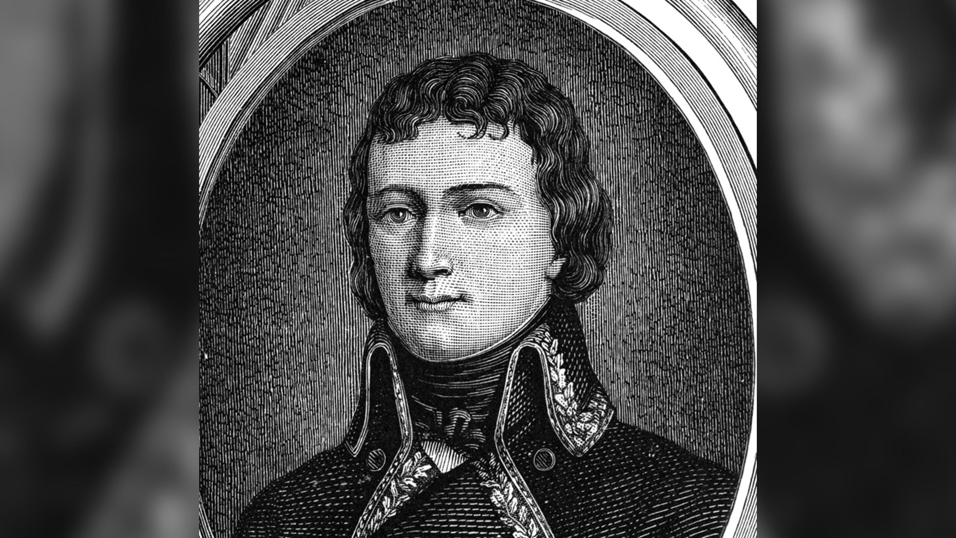 A portrait of Charles Etienne Gudin, who fought in Napoleon's Grande Armée.