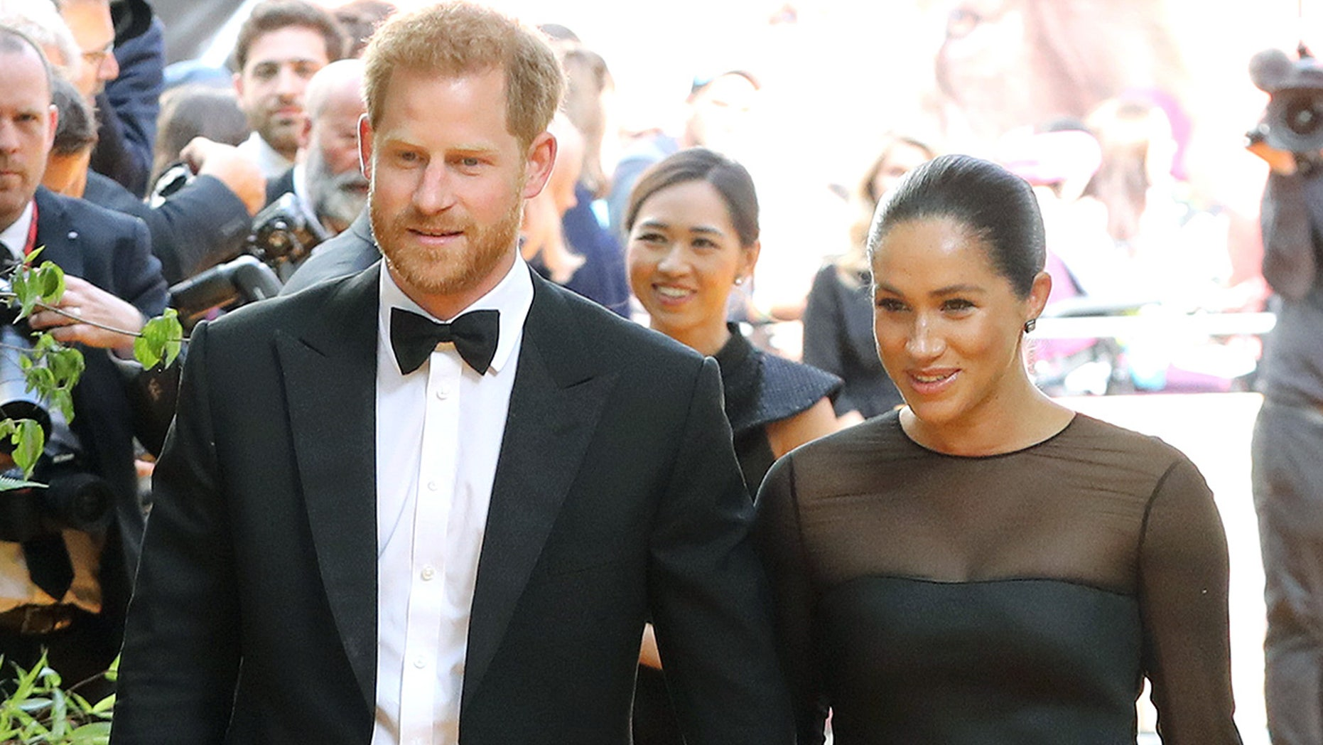 London, England - July 14: Prince Harry, Duke of Sussex and Megan, Duchess of Sussex
