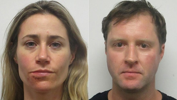 Hoffman and her boyfriend, Jonathan Mahoney, were arrested and charged with domestic assault on Monday.