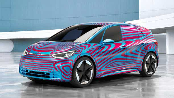 Volkswagen will launch its first MEB-based car, the ID 3, in 2020.