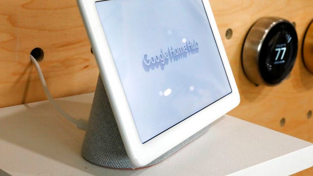 FILE: A Google Home Hub is displayed in New York.