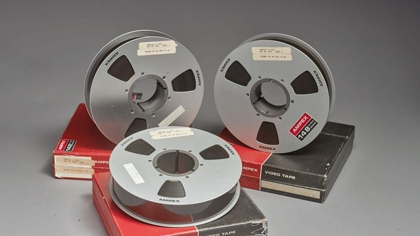 The three tapes were bought for $217.77 at a government surplus auction in 1976.