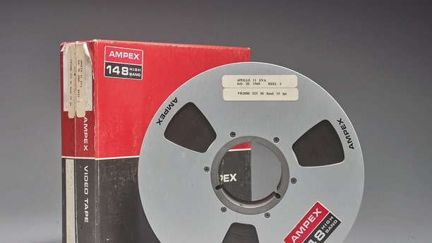 One of the original videotapes of the Apollo 11 Moon landing.