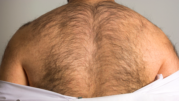 "Over half of men admit to feeling ""embarrassed"" about their body hair, new research has found."