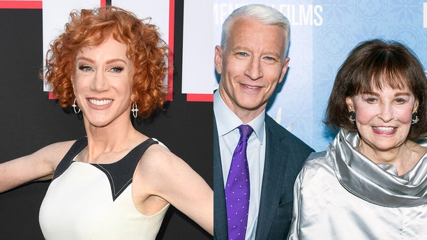 Kathy Griffin said she may have known Anderson Cooper's mother, Gloria Vanderbilt, better than he did.