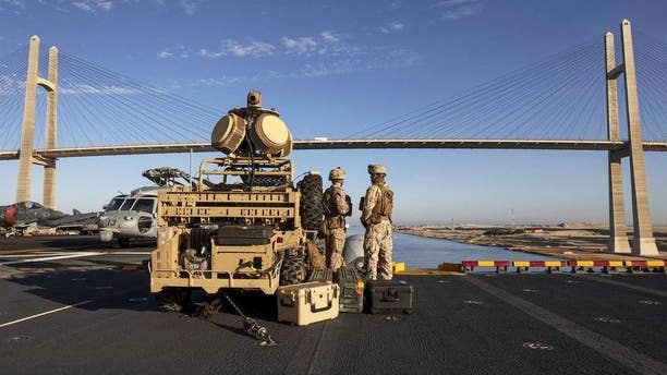 The above image shows the Marine Corps' Light Marine Air Defense Integrated System.