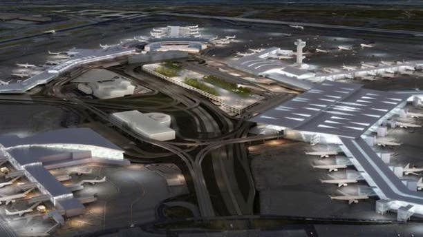 Federal authorities pulled a suspected terrorist sympathizer from a plane at JFK Airport on Friday, according to a report.