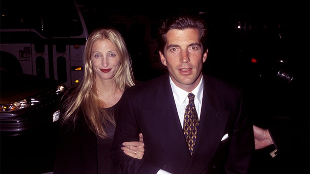 John F. Kennedy Jr. and Carolyn Bessette.