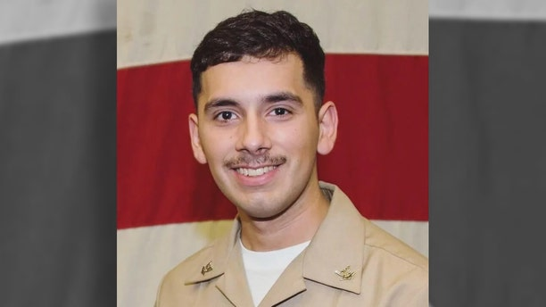 U.S. Naval Forces Central Command Public Affairs Office told Fox News that Aviation Electronics Technician 2nd Class Slayton Saldana was the sailor listed as Duty Status Whereabouts Unknown (DUSTWUN). (Navy)