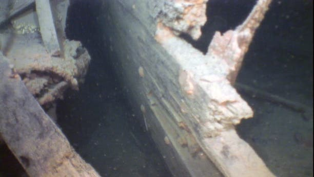 Researchers used an underwater drone to identify the wreck of the S.R. Kirby in Lake Superior. (Great Lakes Shipwreck Museum)