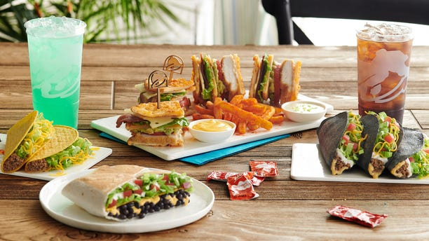 The menu includes items reportedly exclusive to the hotel, which includes a Toasted Cheddar Club served with Nacho Fries, Avacado Toast-ada, Fire Chip Chilaquiles and a Birthday Freeze.
