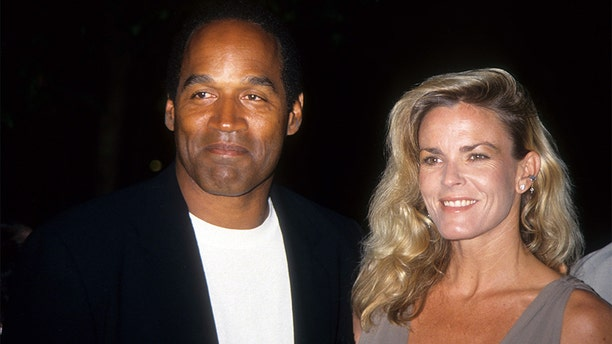 O.J. Simpson and Nicole Brown Simpson on March 16, 1994. (Photo by Vinnie Zuffante/Archive Photos/Getty Images)