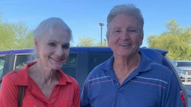 Barbara Thomas was last seen Friday hiking with her husband, Robert, in the desert before the two got separated, according to police.