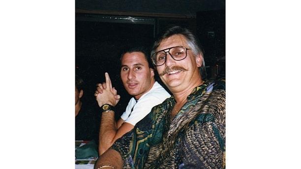 Ron Goldman with his father Fred Goldman. — Courtesy of Kim Goldman