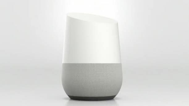 One of Google's Home smart speakers is seen above. (Image courtesy of Google)