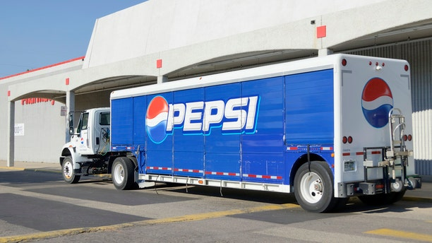 The man was found inside a Pepsi truck with numerous empty soda bottles around him.